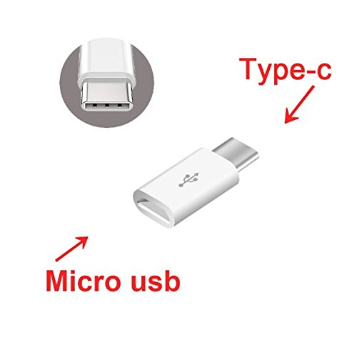 Jadebin Micro USB to USB Type C (USB 3.1) OTG & Data Transfer Adapter for Smartphones