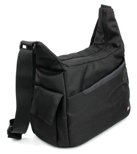 Praktische Tragetasche (Innenmaße (LxBxH): 27 cm x 11 cm x 21 cm) - schwarz +...