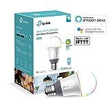 TP Link Wi-Fi Smart lampadina LED con cambio colore, multicolore, E27, 11W
