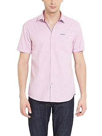 Msd Men Slim Fit Cotton Casual Shirt