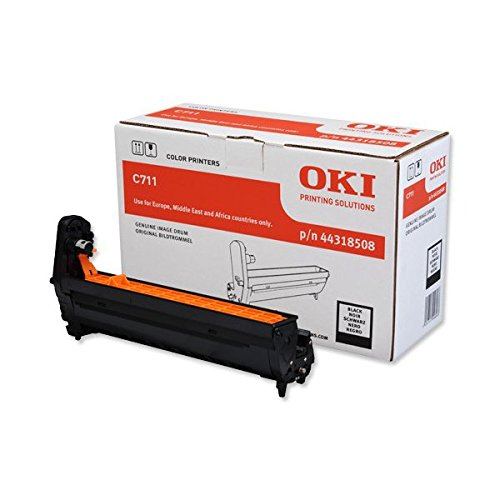 Preisvergleich Produktbild OKI 44318508 C711 Trommelkartusche schwarz 20.000 Seiten
