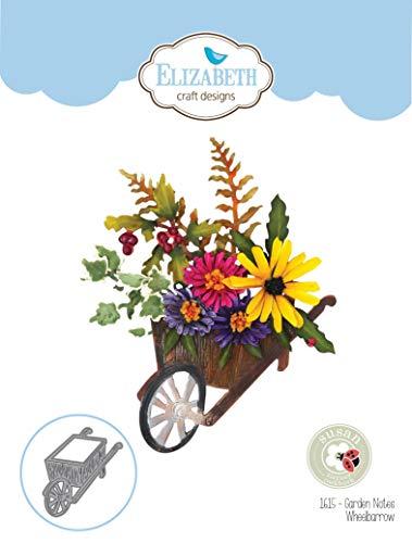 Garden Club (Elizabeth Craft Designs EC1615 Elizabeth Craft Metallschablone von Susan's Club Notes-Garden Schubkarre)