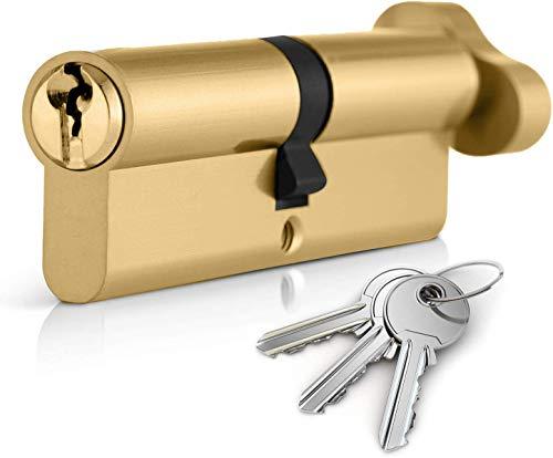 acabado Dual Lock Schlosser Technik ultimate/² Anti-fijaci/ón para puerta cerradura