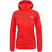 The North Face The North Face Summit L3Ventrix hoodie W, fiery red, M