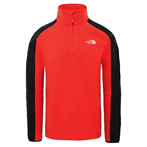 41D9vR 9ZFL. SS500  - THE NORTH FACE Men's Glacier Delta 1/4 Zip Pullover