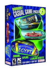 Casual Variety Pack (Mahjongg Artifacts, Mauerschieber Ägypten, Atlantis Quest) - PC