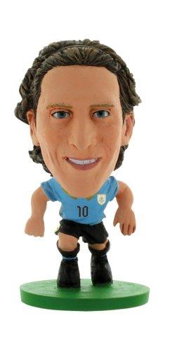 SoccerStarz Uruguay International Figurine Featuring Diego Forlan in Uruguay s Home Kit - Blister Pack  Releasing 16th April 2014