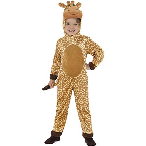 NET TOYS Giraffenkostüm Kinder Kinderkostüm Giraffe M, 7 - 9 Jahre, 130 - 143 cm Overall Jumpsuit Tier Tierkostüm Karneval