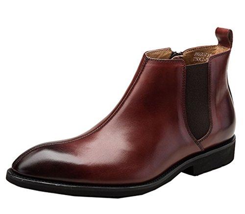 Dilize , Herren Stiefel, braun - rotbraun - Größe: 44 (Cowboy-wingtip Schuhe)
