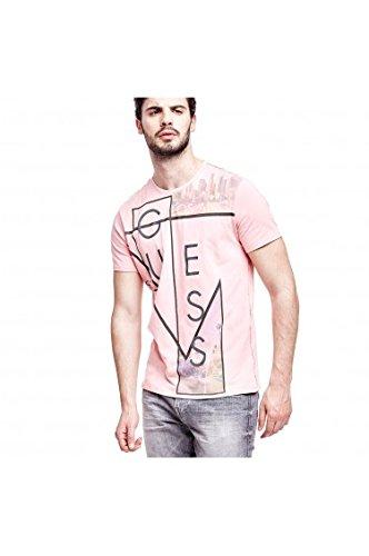 Guess Herren T-Shirt Gr. XXXL, rose