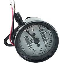 LCD Digital Velocímetro Odómetro Mecánico Tacómetros de Motor Motocicleta Bici