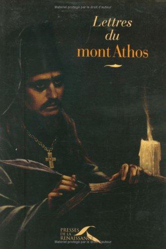 Lettres du mont Athos par Anonyme