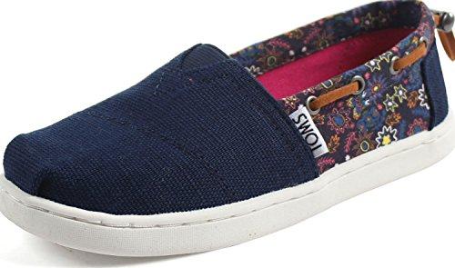 TOMS - Jugend Bimini Slip-On Schuhe, 31 EUR, N Multi Forest Floral