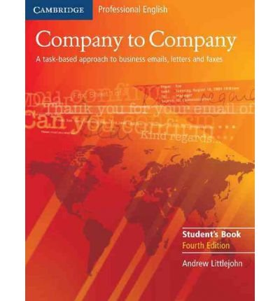 [(Company to Company Student's Book)] [ By (author) Andrew Littlejohn ] [January, 2006]