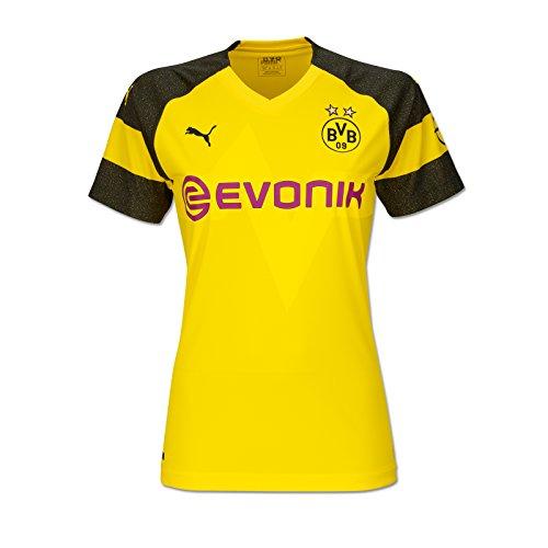 Puma BVB 09 Borussia Dortmund Women Trikot Home 18/19 (L, gelb/schwarz)