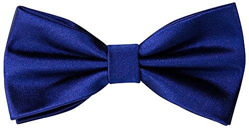 Helido Fliege Herren, einfarbig + Geschenkbox (Dunkelblau) (Anzug Christmas Blue)