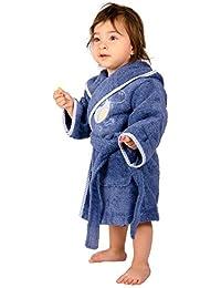 Tradition des vosges albornoz Monster, algodón, azul, 6 años