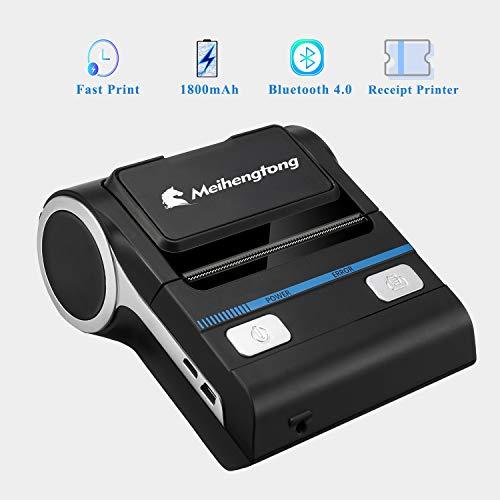 80mm stampante termica ricevitore bluetooth ios ricevente android biglietto usb biglietto da visita stampante macchina mht-p8001 casa d'affari