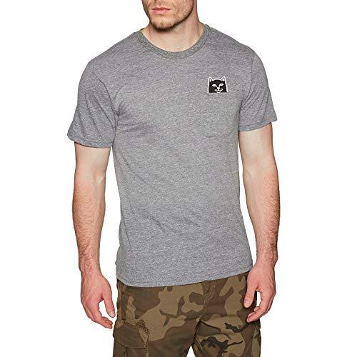 0f2ea4fcc6a995 Rip N Dip Lord Jermal - Camiseta de Manga Corta - Gris - Medium