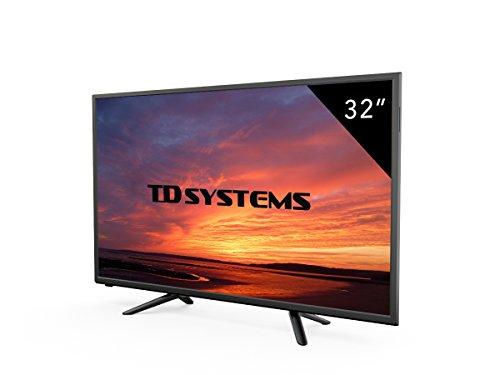 TV 32 Pouces HD LED TD Systems K32DLT7H. Téléviseur HD, 3x HDMI, VGA, USB Lecteur et enregistreur