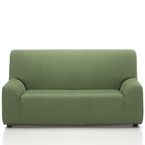 Jarrous Funda de Sofá Elástica Modelo ARUCAS, Color Verde C/6, Medida 2 Plazas · 130-180cm