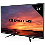 Televisores Led 32 Pulgadas Hd TD Systems K232DLT7H (Resolución hd /HDMI 2/VGA 1/USB Repoductor y Grabador) Tv Led TDT HD DVB-T2