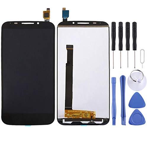 Foto SHIZHENGNING Nuovo Cavo Flex LCD Screen e Digitizer Assembly Completo per Alcatel One Touch Pop S7 / 7045 / OT7045 / 7045Y (Nero),Disponibile (Colore : Black)