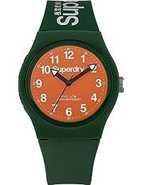 Superdry Analog Orange Dial Unisex Watch - SYG164ON