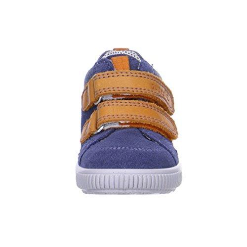 Superfit Moppy, Chaussures Bébé marche bébé garçon Bleu (moonlight Kombi 91)