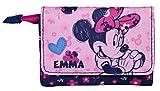 Geldbeutel mit Namen | Personalisieren & Bedrucken | Minnie Mouse | Geldbörse für Kinder | Portmonee Mädchen | Kindergeldbeutel inkl. NAMENSDRUCK