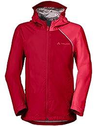 VAUDE Niños Kids Grody Jacket III Chaqueta, primavera/verano, infantil, color Rojo, tamaño 6 años (116 cm) [DE 110/116]