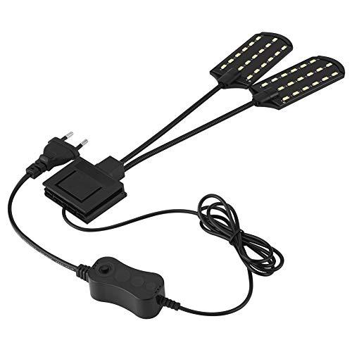 Luce LED per acquario, lampada impermeabile con clip, a risparmio energetico [Classe di efficienza energetica A]