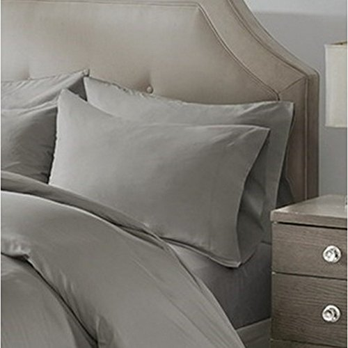 Europäische Baumwolle Kissenbezüge, baumwolle, grau, Standard