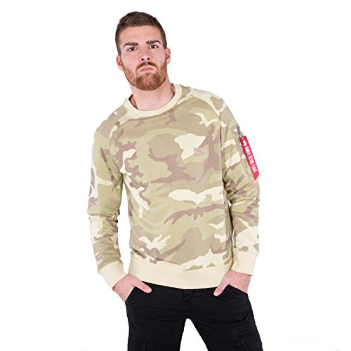 Alpha Industries Sweater X-Fit Mimetico