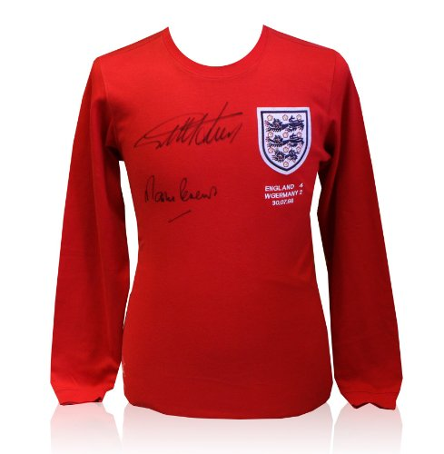 Signed 1966 England Framed World Cup Shirt by 10 players – Limited ... cefb5044d