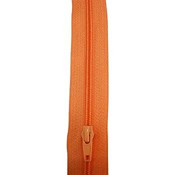 au m/ètre Artapisserie.fr Fermeture /éclair /à glissi/ère Orange 5mm