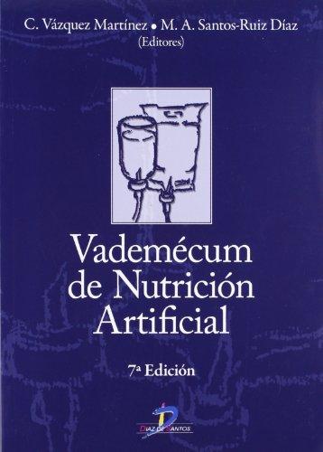 Vademecum de nutrición artificial por Clotilde Vázquez Martínez