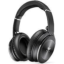 Auriculares Cascos Bluetooth, SAVFY Auriculares Inalámbricos Bluetooth con Micrófono Hi-Fi y Cancelación Activa