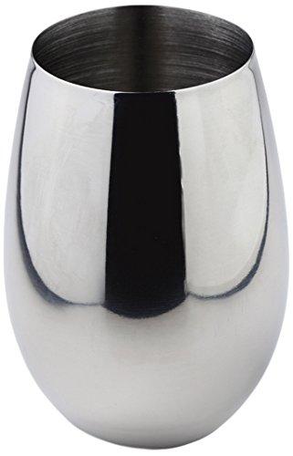 Tomasucci 0912 Domus Bicchiere Portaspazzolini, Metallo Cromato