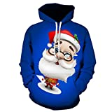 Loves 'Long Sleeve Hoodies Paar Druck Pullover Casual Herbst Winter Weihnachten Druck Langarm Hoodies Lose Sweatshirt Moonuy
