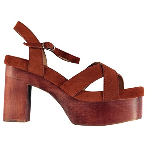 Jeffrey Campbell 046Carmindy piattaforma sandali scarpe calzature da donna ruggine, Ruggine