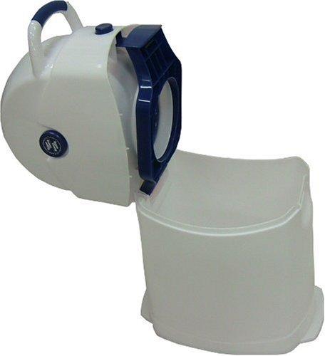 Geruchsdichter Windeleimer Diaper Champ regular blau – für normale Müllbeutel - 2