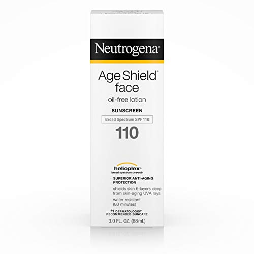 Neutrogena Age Shield Face Lotion SPF 110, 1er Pack (1 x 88 ml) (Sunscreen Spray Neutrogena)