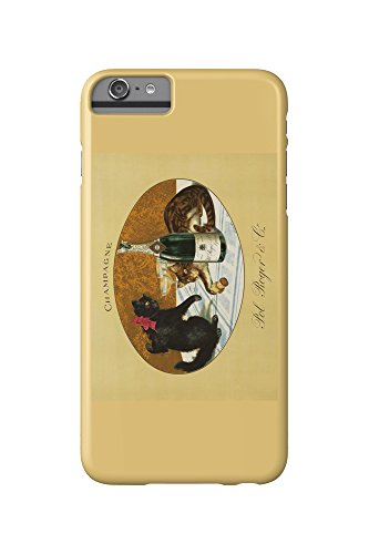 champagne-pol-roger-c-1921-vintage-poster-iphone-6-plus-cell-phone-case-slim-barely-there