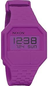 Nixon Femme Rose Caoutchouc Bracelet Polycarbonate Boitier Montre A169698-00