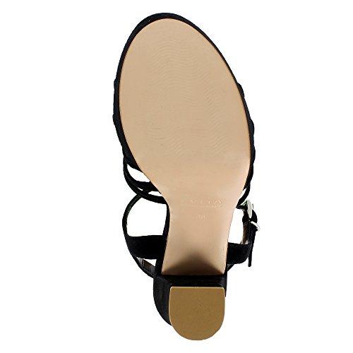 Evita Shoes  Stefania, Sandales pour femme Noir