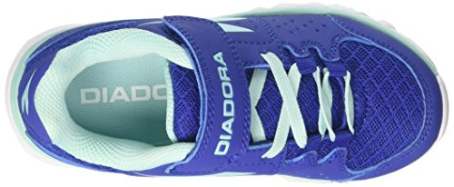 Diadora Hawk 7 Jr, Chaussures de Course Mixte Enfant Bleu (Blu Oltremare/azz. Aruba)