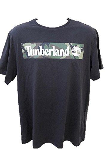 Timberland New Graphic CAMO Black TOP TEE SZ  X-Large L