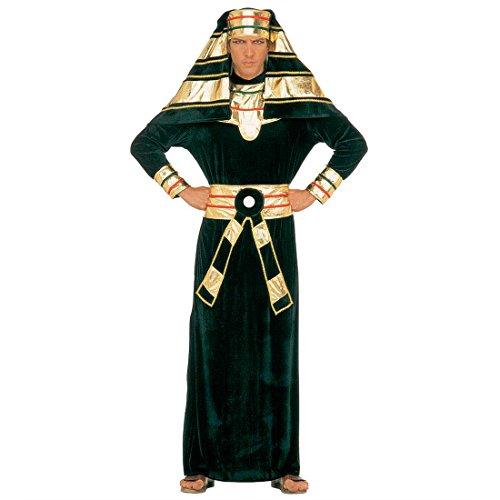 Ägyptischer Pharao Kostüm Ägypter Herrenkostüm Samt L 52 Pharaonenkostüm König Gewand Königskostüm Fasching Pharaonen Faschingskostüm Ramses Cheops Ägypten Karnevalskostüm Orient Antike Mottoparty Verkleidung Karneval Kostüme Männer