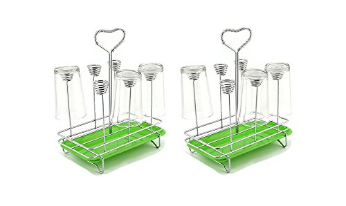 Portabicchieri drain portabicchieri la bottiglia di essiccazione,2pcs